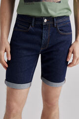 Fifty Outlet Bermuda Denim Slim Azul
