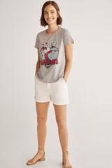 Fifty Outlet Camiseta olivia Gris