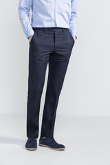 Fifty Outlet Pantalón traje separate tailored fit Azul marino