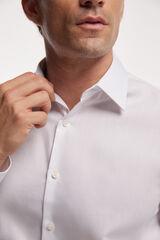 Fifty Outlet Camisa Vestir Estructura Blanco