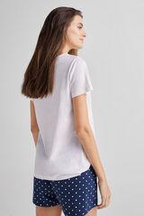 Fifty Outlet Pijama de algodón Azul marino