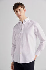 Fifty Outlet Camisa twill lisa Blanco