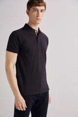 Fifty Outlet Polo básico preto