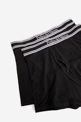 Fifty Outlet Boxer con cinturilla elastica grabada Negro