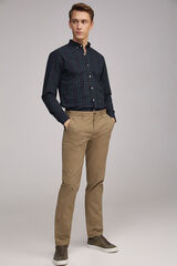 Fifty Outlet Pantalón chino stretch Verde