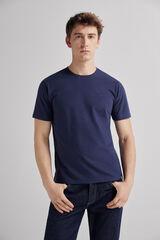 Fifty Outlet Camiseta básica Azul marino