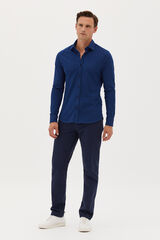 Fifty Outlet Camisa sport Azul marino