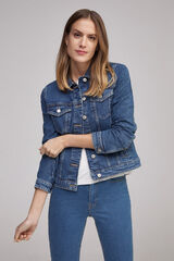 Fifty Outlet Cazadora denim Azul marino