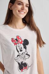Fifty Outlet Camiseta Minnie Crudo