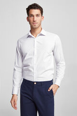 Fifty Outlet Camisa Clássica Conforto branco