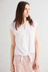 Fifty Outlet Blusa crepe Crudo