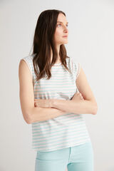 Fifty Outlet Camiseta algodón orgánico Gris oscuro