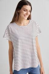 Fifty Outlet Camiseta básica orgánica Naranja