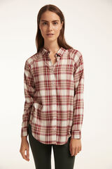 Fifty Outlet CAMISA TWILL Rojo