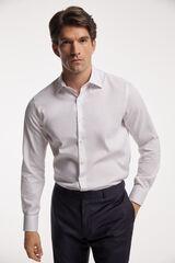 Fifty Outlet Camisa Vestir Estrutura branco