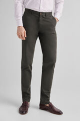 Fifty Outlet Pantalón chino slim Verde