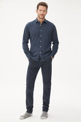 Fifty Outlet Camisa manga larga Azul