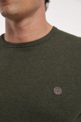 Fifty Outlet Jersey cuello caja Verde