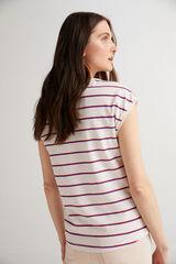 Fifty Outlet Camiseta básica orgánica Crudo