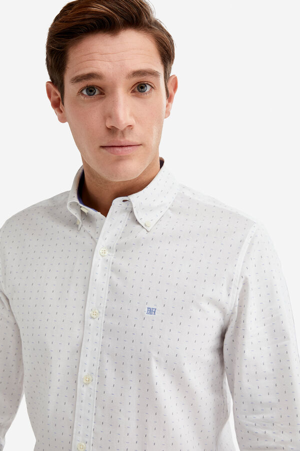 Fifty Factory Camisa comfort Blanco 334920603a2