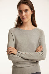 Fifty Outlet JERSEY BÁSICO BARCO Gris