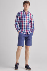 Fifty Outlet Bermuda lisa confort Azul