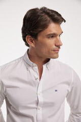 Fifty Outlet Camisa Popelina Lisa branco