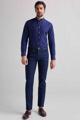 Fifty Outlet Pantalón Denim Confort Azul