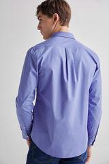 Fifty Outlet Camisa popelín lisa Azul