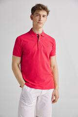 Fifty Outlet Polo básico Rojo