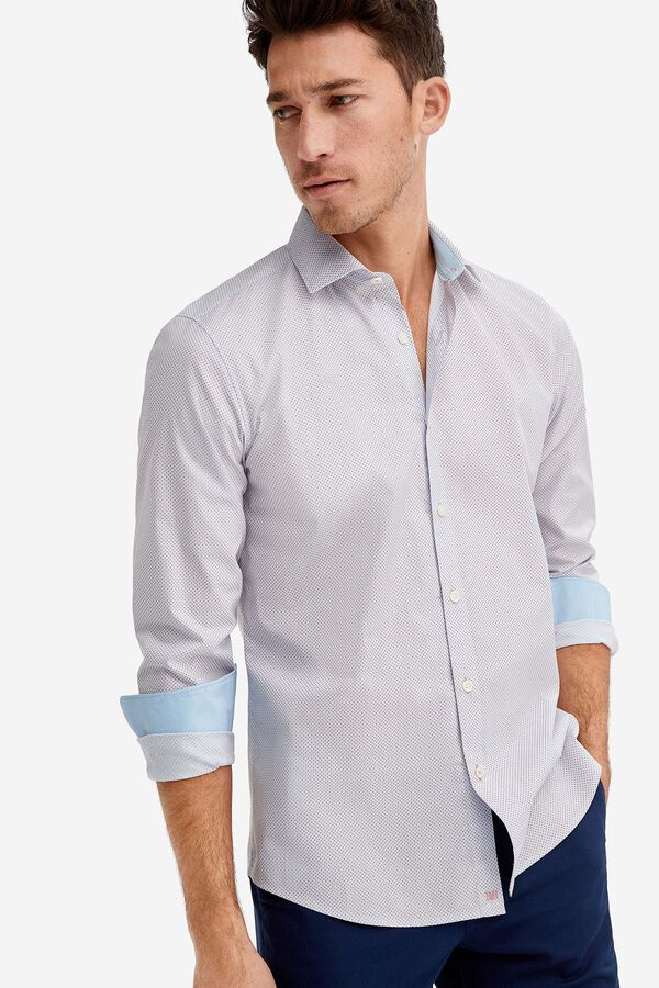 6602279697 Fifty Factory Camisa confort Rojo