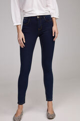 Fifty Outlet Denim slim fit Azul marino
