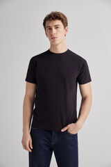 Fifty Outlet Camiseta básica Negro