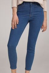 Fifty Outlet Denim sostenible slim fit Azul marino