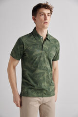 Fifty Outlet Polo estampado Crudo