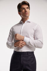 Fifty Outlet Camisa Estructura Blanca Blanco