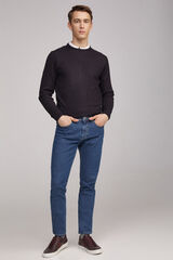 Fifty Outlet Low denim slim Azul
