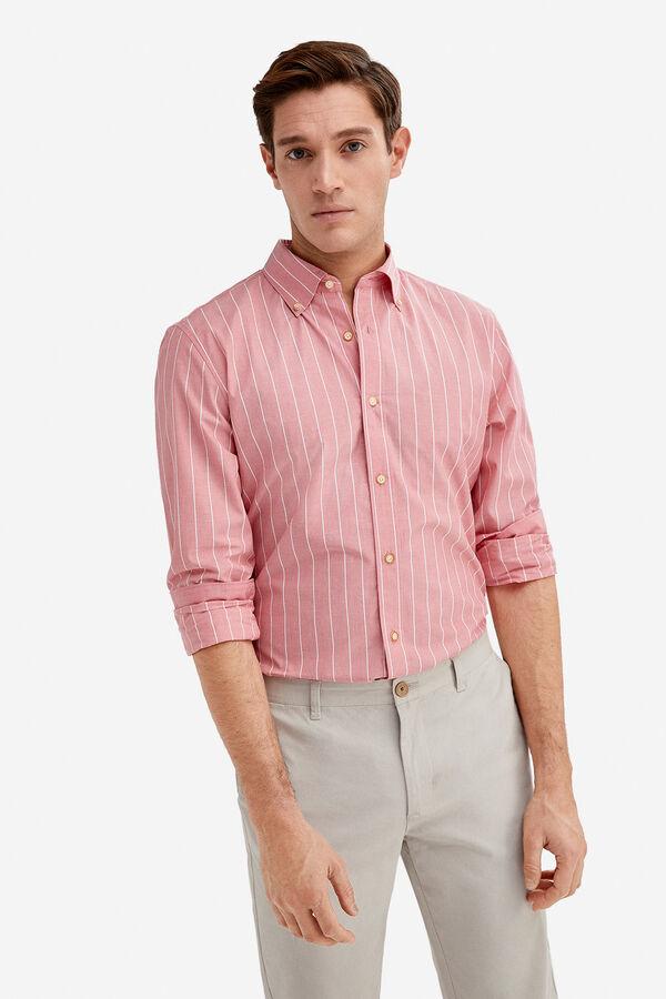 c19370d5f0a73 Fifty Factory Camisa algodón Rojo