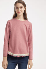 Fifty Outlet SUDADERA VOLANTE rosa