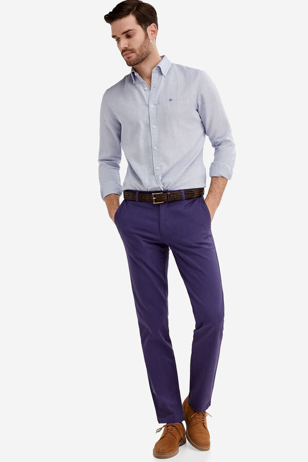 0b315a024d Fifty Factory Pantalón chino Azul