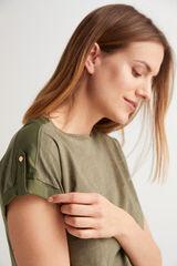 Fifty Outlet Camiseta algodón orgánico Blanco