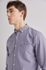 Fifty Outlet Camisa sport twill marrón