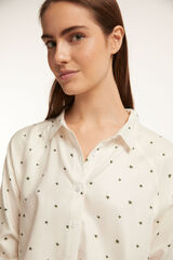 Fifty Outlet CAMISA TWILL Blanco