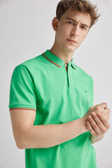 Fifty Outlet Polo piqué Verde