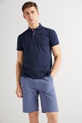 Fifty Outlet Polo algodón Azul marino