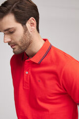 Fifty Outlet Polo piqué Rojo