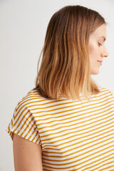 Fifty Outlet Camiseta punto de algodón Amarillo