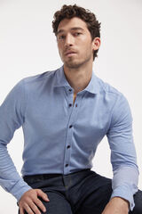 Fifty Outlet Camisa sport mix azul