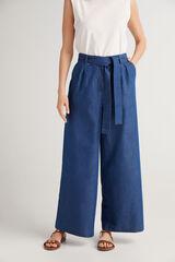 Fifty Outlet Pantalón corte recto Azul