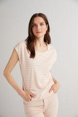 Fifty Outlet Camiseta básica orgánica Rosa